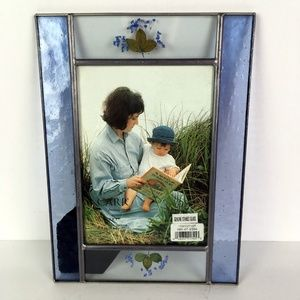 Carr Stained Glass Pressed Flower Photo Frame